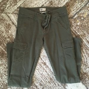American eagle soft stretchy cargo jeggings